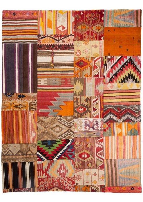 שטיח פצ'וורק (טלאים) דגם 1283