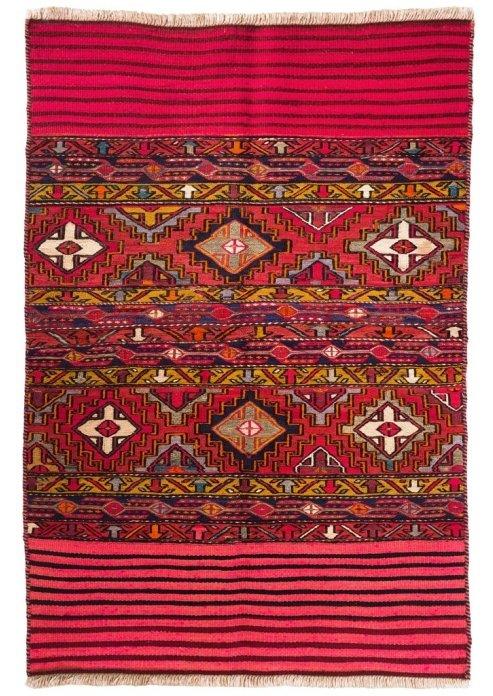 שטיח סומק כורדי ישן דגם: 1322