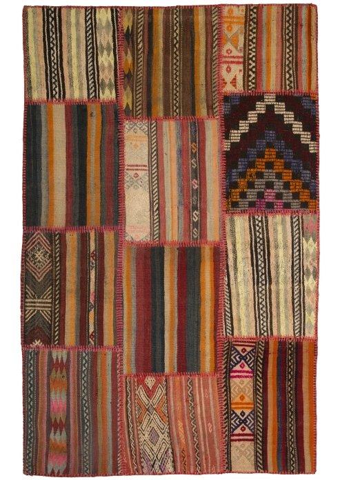 שטיח פצ'וורק (טלאים) דגם: 1534