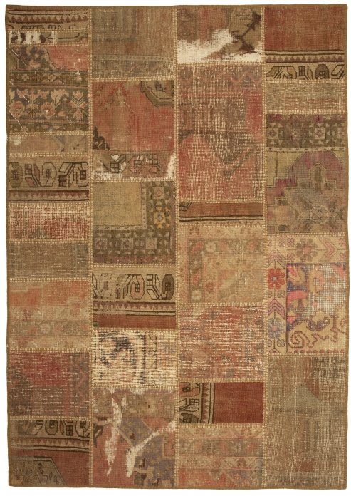 שטיח פצ'וורק (טלאים) דגם: 1550
